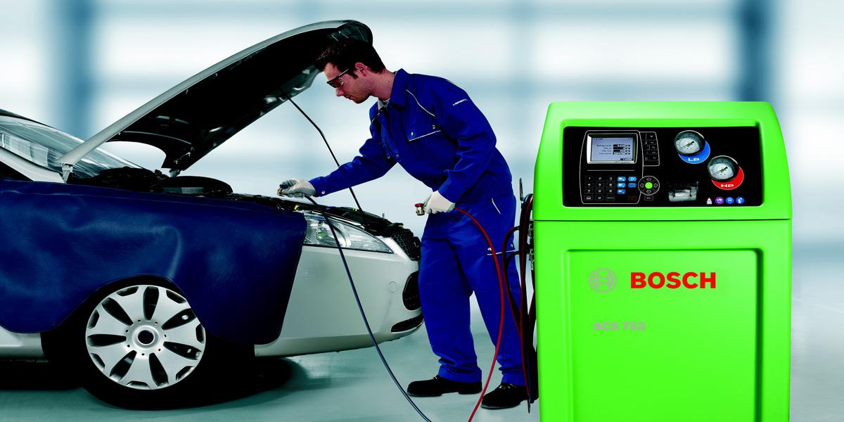 Servis i dijagnostika auto klime po Bosch programu